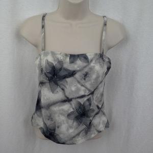 Athena swim suit top 8 Modest Skirt Floral Purple